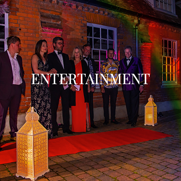 We have lots of exciting entertainments already in place, please visit the Events page to book